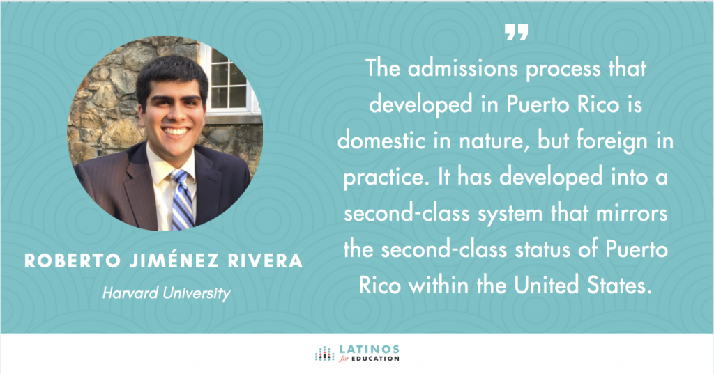 Puerto Rico's College Admission Process - Latinos for Education