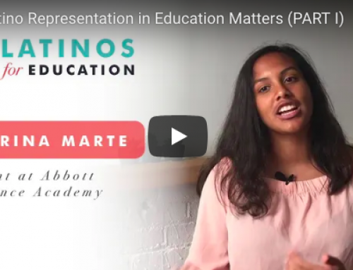 Latina Student Reflects on the Value of Shared Cultural Identity