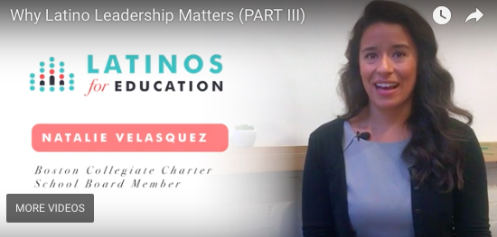 Projecting the Latino Voice from Classrooms to Boardrooms