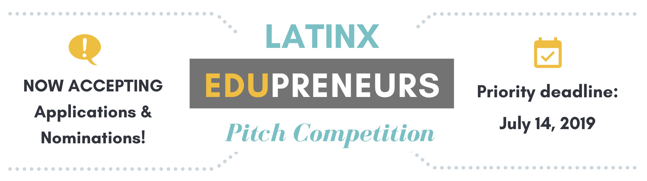 Pitch Competition Deadline