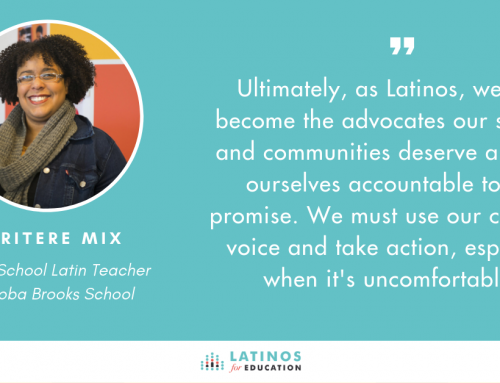 How I Expanded My Role as an Educator to Become an Advocate for Latino Communities