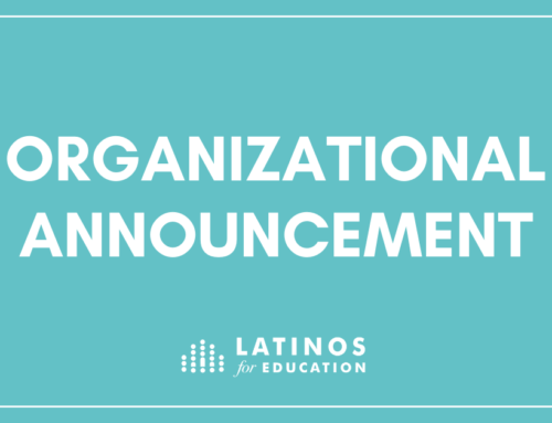 Fundraising Professional joins Latinos for Education as Chief Development Officer