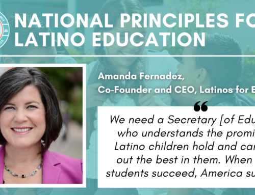 The Next Secretary of Education Cannot Ignore the Latino Community
