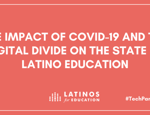Latinos for Education and MA Joint Committee on Education Highlight Tech and Education Disparities Impacting Latino Students