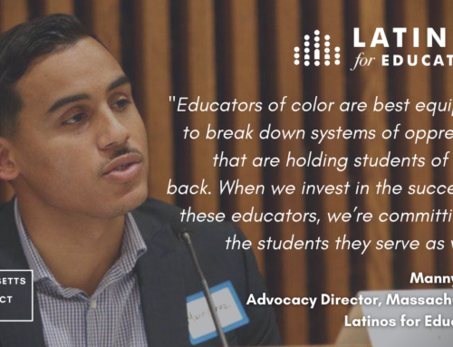 The Educator Diversity Act: Game Changing Policy to Promote Teacher Diversity