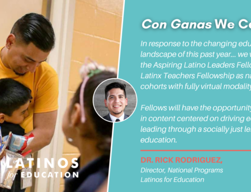El Trabajo Sigue: Latinos for Education Programs Adapt to Changing Times