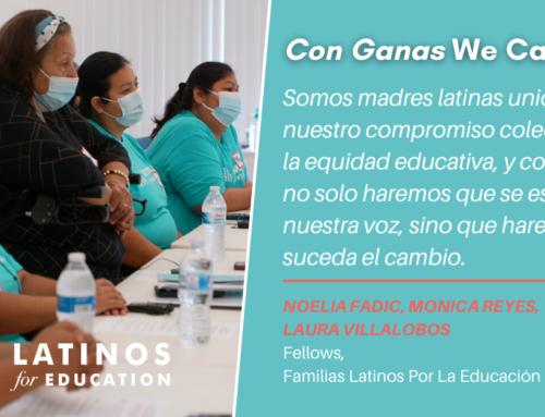 Somos Madres Latinas De Houston. Esta Es Nuestra Visión Para un Mejor Distrito Escolar Para Todos.